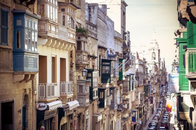 Balkone in Valetta